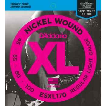 D´addario ESXL170 XL Nickel Wound Doble Bola para bajo
